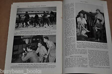 1945 JAPAN, the Japanese People, magazine article, post WWII, US influences etc