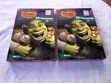 Lot Of 2 Boxes - Shrek The Third - 32 Valentines Each Box - Nib - 2007