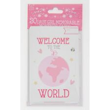 Baby Shower 30 x Baby Girl  Memorable Smile Weeks Moment Cards