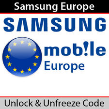 Samsung Unlock Code (UK & Europe Networks) - Fast Processing