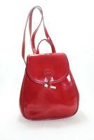 Longchamp Sac à Main Cuir Rouge TBE