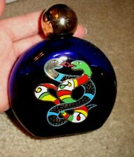 Vintage Niki de Saint Phalle Bath Oil Used 4 oz Perfume Bottle (pb188)