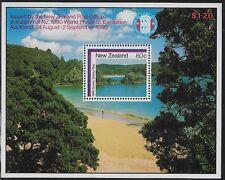 New Zealand 1986 Wainui Bay Souvenir Sheet, Sc #853a, MNH  ow211