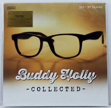 BUDDY HOLLY, COLLECTED, LTD NUMB 3 x 180GR LP AUDIOPH GOLD COLOR VINYL (SEALED)