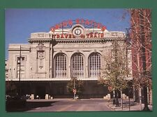 VINTAGE POSTCARD UNION STATION DENVER USA USED BUT VERY GOOD CONDITION 1997