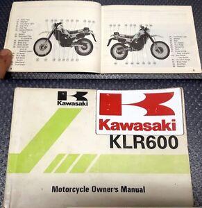 KAWASAKI KLR 600 Libretto uso e manutenzione