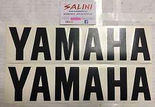 Adesivo coppia scritta YAMAHA nera Grande  - Sticker