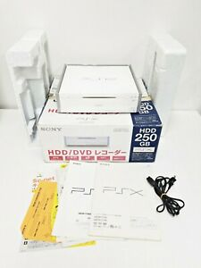 Sony Playstation PSX White DESR-7100 250GB Console Boxed JUNK Japan Import