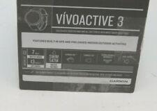 Garmin Vivoactive 3 Gps Smartwatch - Black (Xb15)