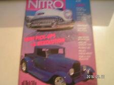** Nitro n°99 Mercury 1957 Pick up / Ford 1929 pick up street rod