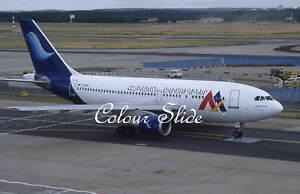 Armenian Airlines Airbus A310-222 F-OGYW, 6.99, Colour Slide, Aviation Aircraft