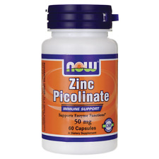 NOW Foods Zinc Picolinate 50 mg 60 Caps