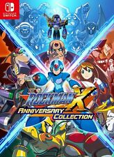 New Nintendo Switch Rockman X Anniversary Collection JAPAN OFFICIAL IMPORT