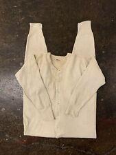Vintage 1900's Fuld & Hatch Knitting Union Suit Adult Medium Coveralls