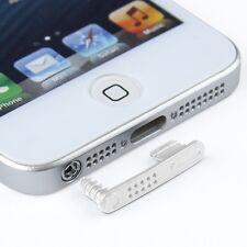 Staubschutz Kappe Stöpsel kompatibel mit iphone SE 5s 5 Headset transparent