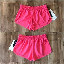 "NWT Lululemon Swell Chaser Shorts 2"" Size 2 Lipgloss Coral Pink Swim Water Sport"