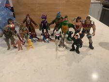 Action Figures G.I. Joe Ninja Turtles Wonder Woman Raisins....
