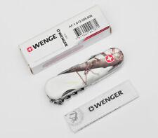 VINTAGE NIB WENGER REALTREE AP SNOW 13 85MM POCKET KNIFE 1.013.009.806