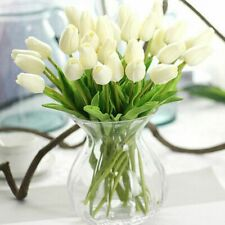 31Pcs/Lot Artificial Tulips Wedding Home Party Decoration Real Touch Fake Flower