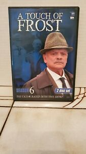 """DVD """" A TOUCH OF FROST SEASON 6 """"  BBC  SHOWS SLIGHT USE   FROM ESTATE JL"""