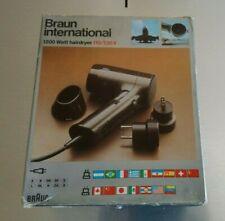 BRAUN INTERNATIONAL Föhn Hairdryer Design 70er 80er HfG Ulm Otl Aicher