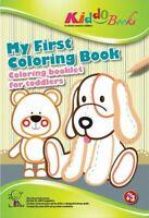 QuackDuck Malblock - My First Coloring Book - Mein erstes Ausmalbbuch ab 3 Jahre