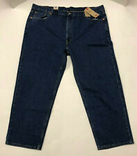 Nwt Mens Levis 550 Relaxed Fit Dark Blue Jeans 48 30