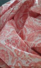 Gianni Versace Vintage 90s King  Soft Rose Top & Pink Sheets 7pc Set Never Used