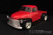 RC Body Car Drift 1:10 Chevy 51 Chevrolet Pickup Truck 1951 APlastics New Shell