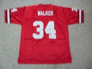 HERSCHEL WALKER Unsigned Custom Georgia Red Sewn New Football Jersey Sizes S-3XL