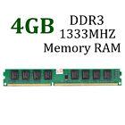 Memoria Ram 4GB DDR3 PC3-10600 DDR3 1333 MHZ 240-Pin Desktop CL9 PC DIMM MEMORY