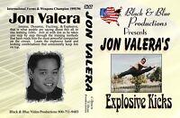 Explosive kicking combinations and workout with World Champion Jon Valera