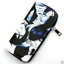 Anime Cosplay Black Butler Kuroshitsuji Sebastian Ciel Wallet Purse Card Holder