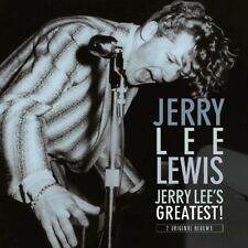 Jerry Lee Lewis SELF TITLED + JERRY LEE'S GREATEST! 180g REMASTERED New Vinyl LP