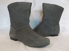 Style & Co Size 6.5 M Bruce Grey Leather Ankle Boots New Womens Shoes