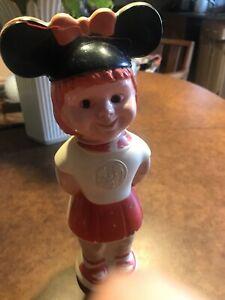 Vintage Walt Disney Mickey Mouse Club MOUSEKETEER Soaky Bottle Palmolive Colgate