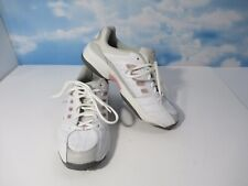 Prince Womens Shoes Size 8 Virtue Tennis Lace Up Sneaker White With Pink EUC