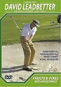 David Leadbetter Golf Lessons DVD Instructional Coaching FAULTS & FIXES