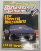 Corvette Fever Magazine Corvette Investment L88 Retrospective March 1989 050215R