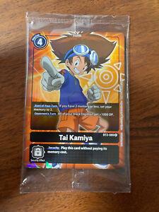 Digimon Card Game TCG | Tai Kamiya- BT2-089 Parallel Rare NM ALTERNATE ART