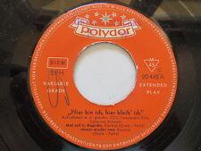 CATERINA VALENTE ..Hier bin ich,hier bleib ich..Polydor Promo EP Vinyl: mint-