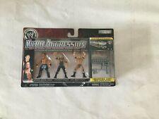 WWE Jakks Micro Aggression Jimmy Yang/Undertaker/Mr. Kennedy with Shopping Cart