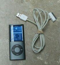 Apple iPod Nano A1285 8GB - Black/Dark Gray with USB Cord  - R75
