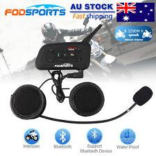 BT Motorcycle Interphone 1200M 6Riders Communication Intercom Bluetooth Headset
