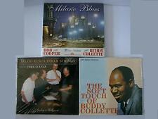 3 CD JAZZ SCONTO- BUDDY COLLETTE- MILANO BLUES-RUSCA NEW NUOVI SIGILLATI SEALED