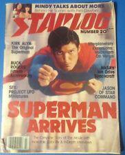 STARLOG March 1979 Superman Mork Jason Buck Rogers NASA magazine