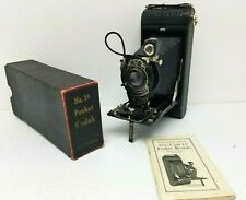 Kodak No 1A Pocket Kodak Folding Camera Mint Condition w instructions & box
