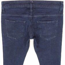 G-Star para hombre Super Ajustado Elastizado Ceñido Dexter Blue Jeans W32 L34