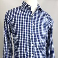 Brooks Brothers 346 Non-Iron Slim Fit PLAID Mens Dress Shirt SIZE 16.5 6/7