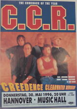 CREEDENCE CLEARWATER REVISTED CONCERT TOUR POSTER 1996